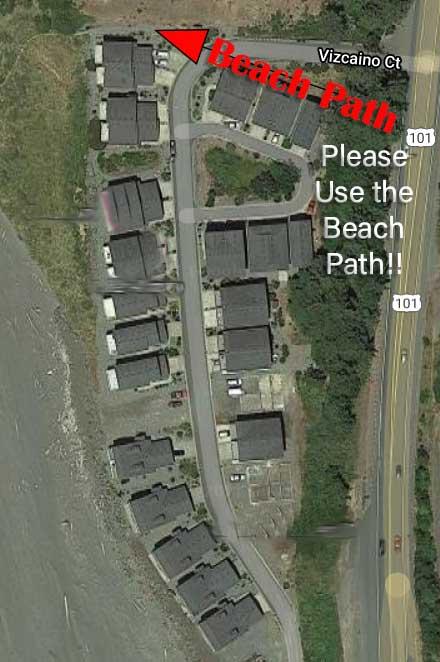 Sebastian Shores Beach Path Location